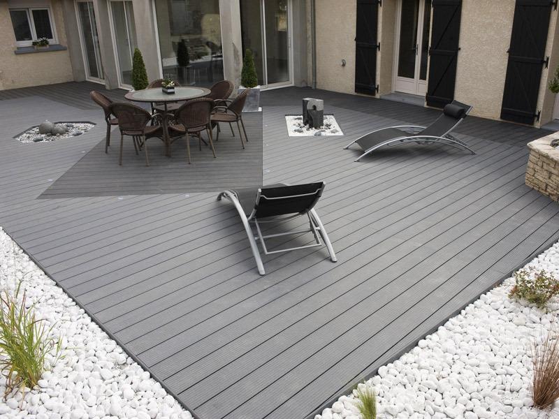 Faire Une Terrasse En Composite Cheap Terrasse En Composite Pas