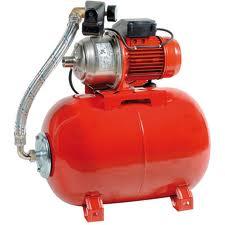 Pompe surpresseur d'eau rouge