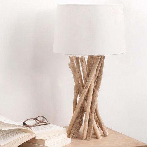Lampe Bois Flotte Fait Maison Avie Home