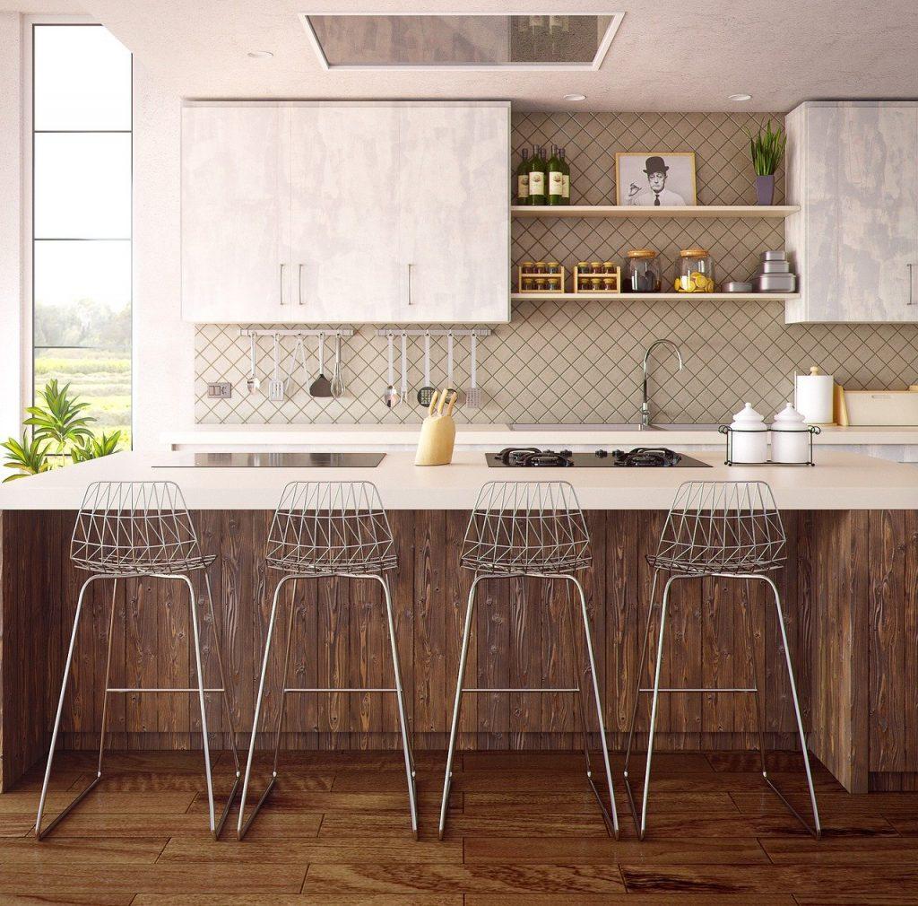 table bar de cuisine