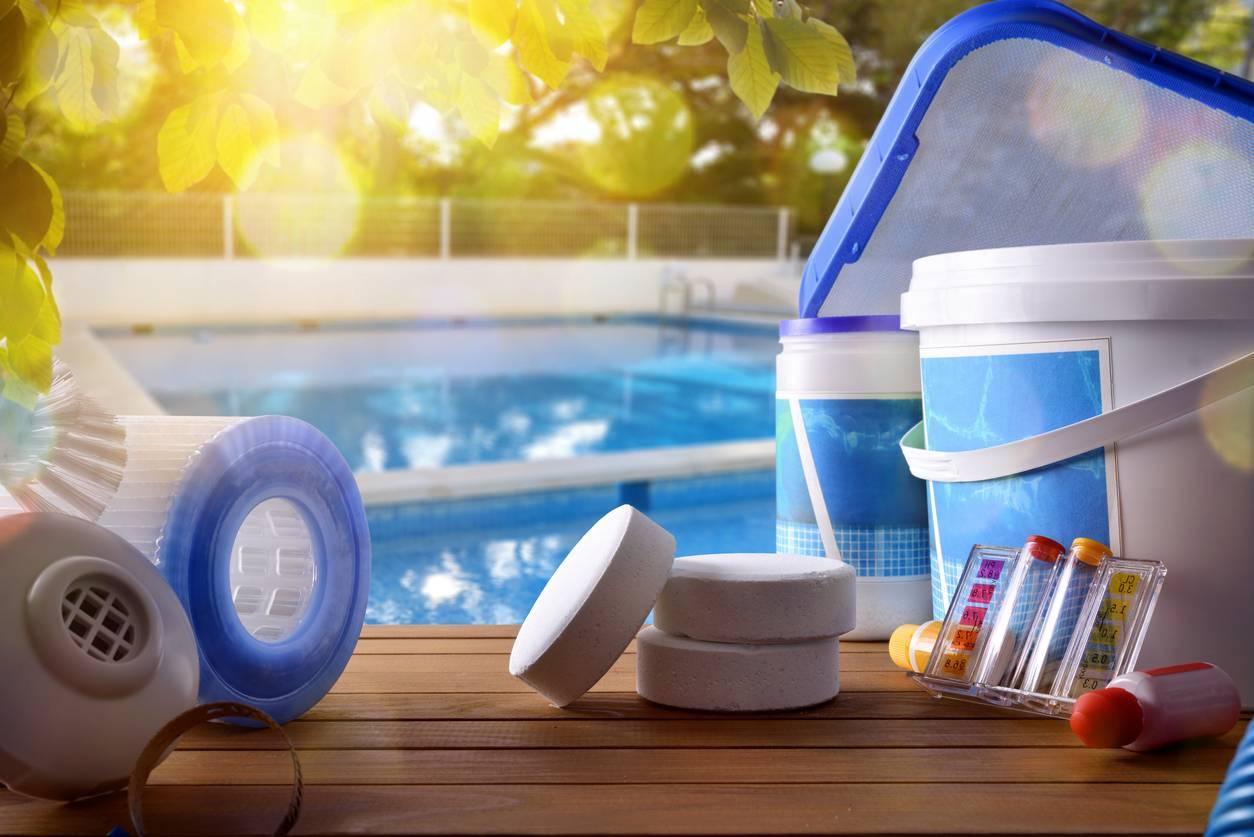 Une piscine bien propre