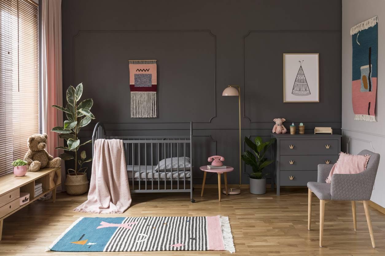 idées de décoration de chambre pour bébé