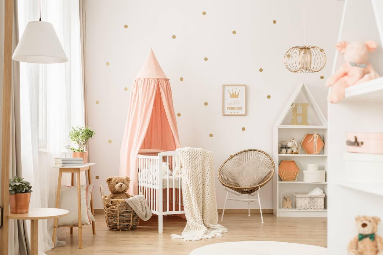 idées chambre bébé stickers décoratifs